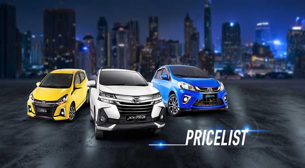 Daftar Harga Daihatsu Terbaru 2020